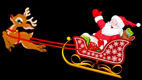 Sleigh clipart santa sleigh Collection a clipart Clipart Santa