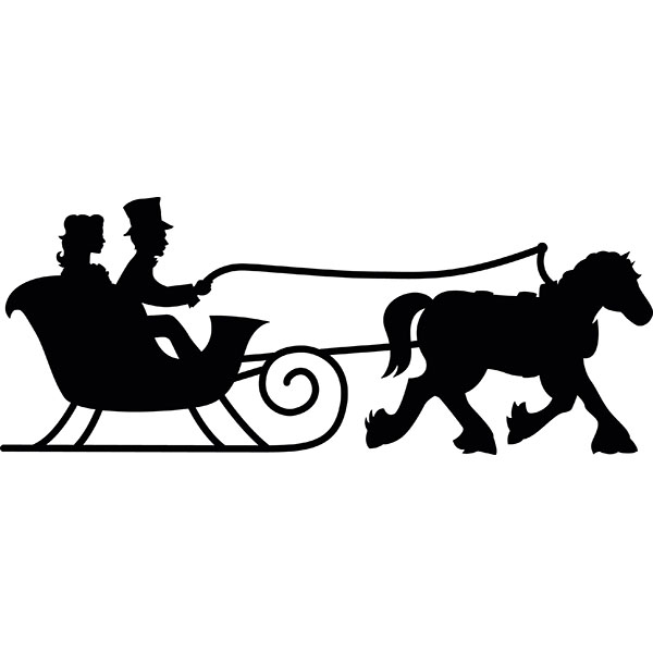 Winter clipart sleigh ride Drawings Download Sleigh #19 Download