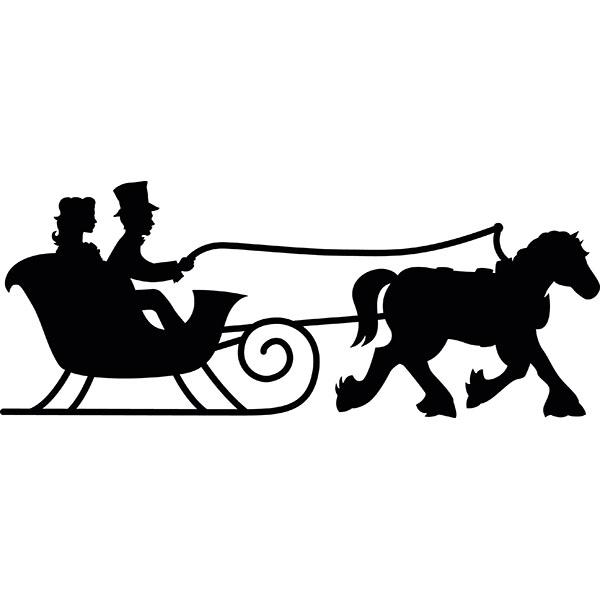 Winter clipart sleigh ride Svg #19 svg Download Sleigh