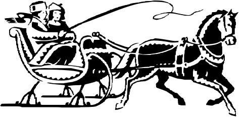 Winter clipart sleigh ride Ride Clipart  Sleigh