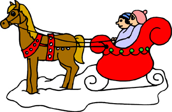 Winter clipart sleigh ride Clipart Clipart Panda Clip Art