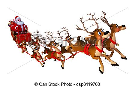 Sleigh clipart vintage Clipart and Art of Collection