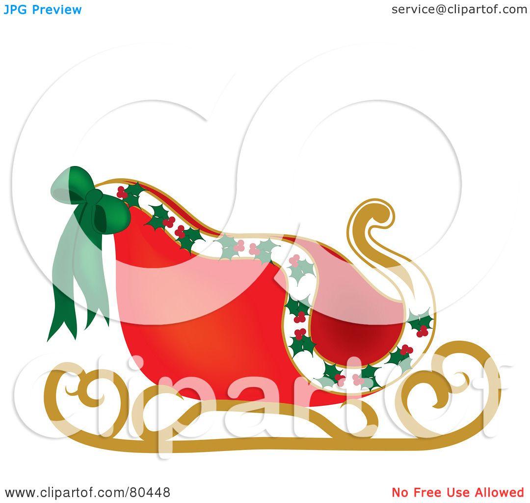 Sleigh clipart vintage Clipart Vintage Sleigh clipart sleigh