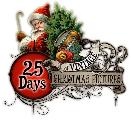 Sleigh clipart vintage Reindeer Vintage Vintage Christmas @
