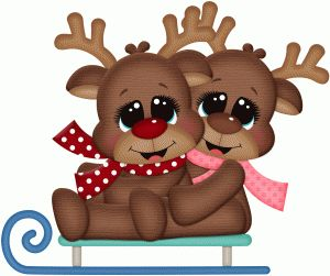 Brown clipart sled Pinterest Christmas this and about