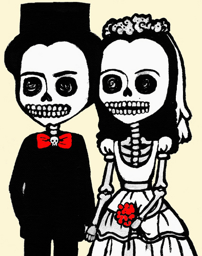 Sleleton clipart bride and groom Skeletons Bride and Modified net/mg2/i…