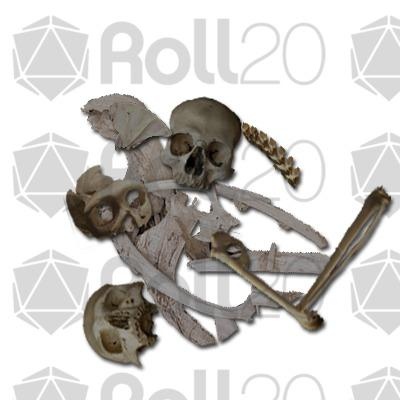 Sleleton clipart dungeons and dragon Dungeon  Digital Pack online