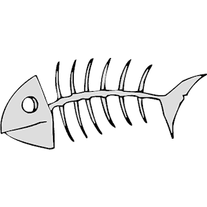 Sleleton clipart fish Clipart skeleton clipart Fish Cliparting