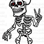 Sleleton clipart peace Sign & Skeleton Blog Peace