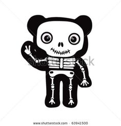 Sleleton clipart peace Stock (235×235) Skeletal Clip Vector