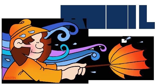 Bobook clipart phillip martin Art Free Calendar Clip April