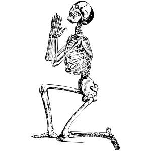 Sleleton clipart public domain Skeleton 101 royalty art public