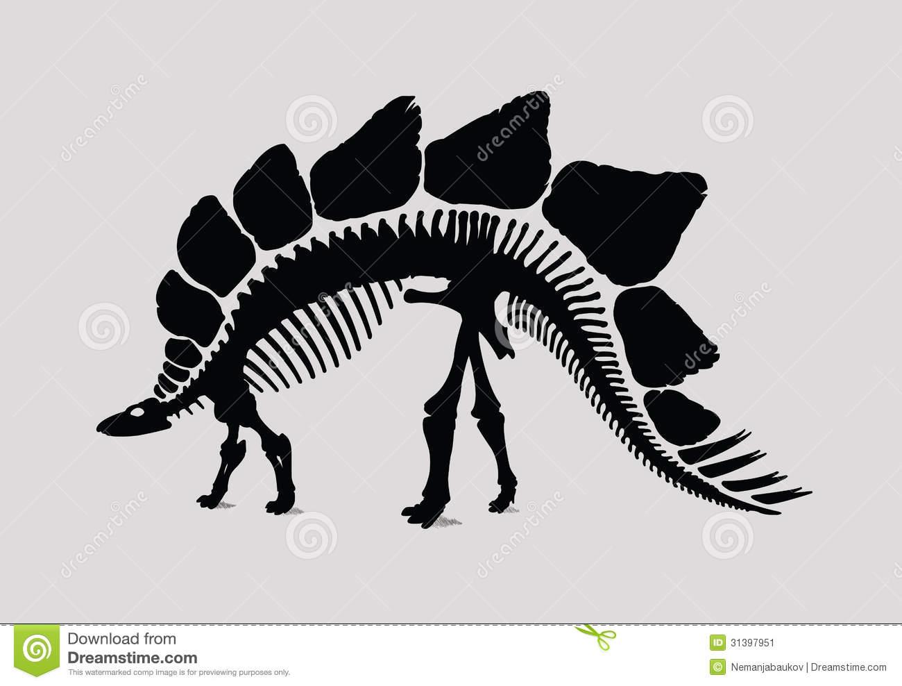 Sleleton clipart silhouette Over Photos Dinosaur Quality Skeleton