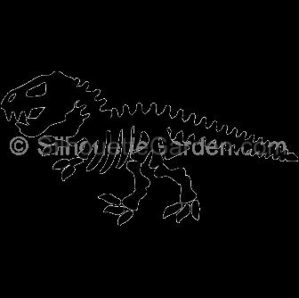 Sleleton clipart silhouette Download in JPG the skeleton