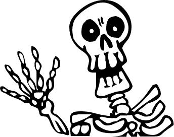 Sleleton clipart silly Animated Photos Free Skeletons Images