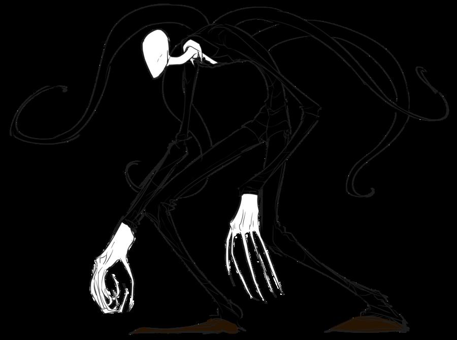 Drawn slenderman transparent Images Transparent Man Slender PNG