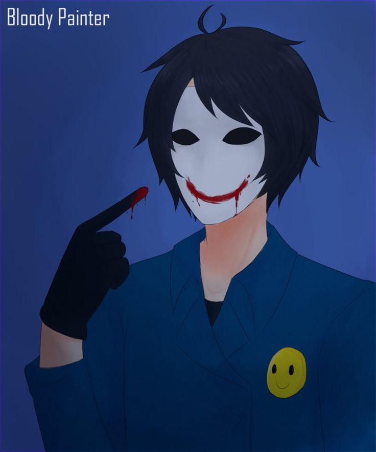 Slender Man clipart bloody Best Bloody SlendermanCreepy Creepypasta Painter
