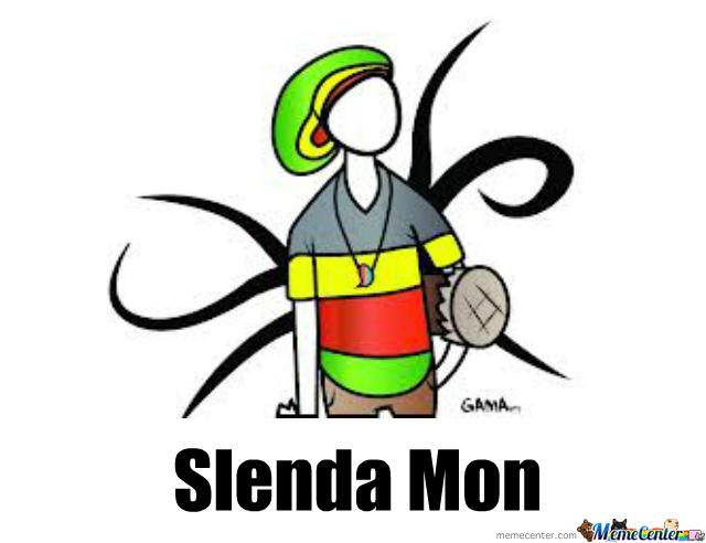 Slender Man clipart slenda Meme by Mon Center Slenda