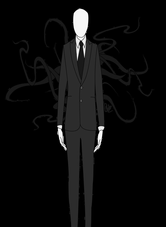Drawn slenderman transparent Man Slender PNG Free Art