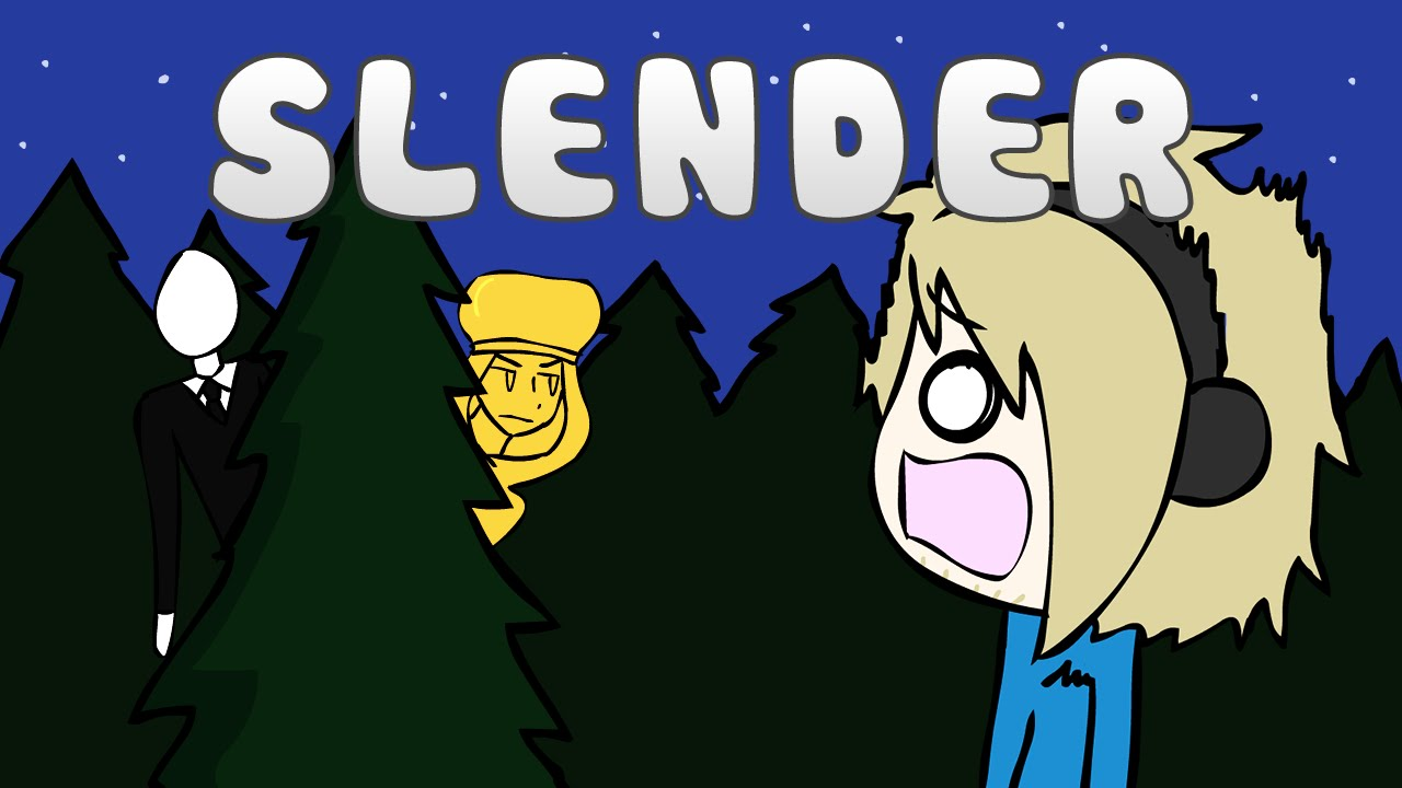 Slenderman clipart pewdiepie YouTube [PewDiePie] Slender Slender YouTube