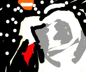 Slenderman clipart skyrim Eats astronaut with like Mungus