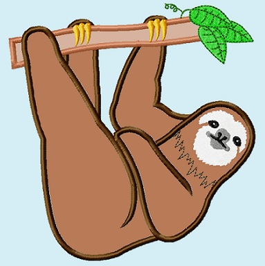 Sloth clipart Index WikiClipArt art Sloth clip