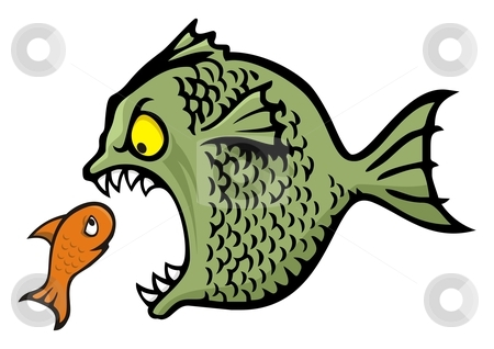 Larger clipart small fish Kid Big Clipart Clipart BBCpersian7