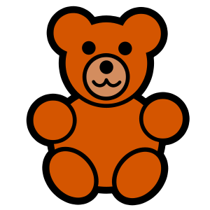 Small clipart art File Bear Clip  file