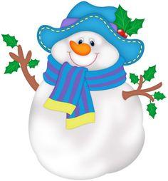 Snowman clipart small Funny Clipart Art ‿✿⁀°•Snowmen°•‿✿⁀ Christmas