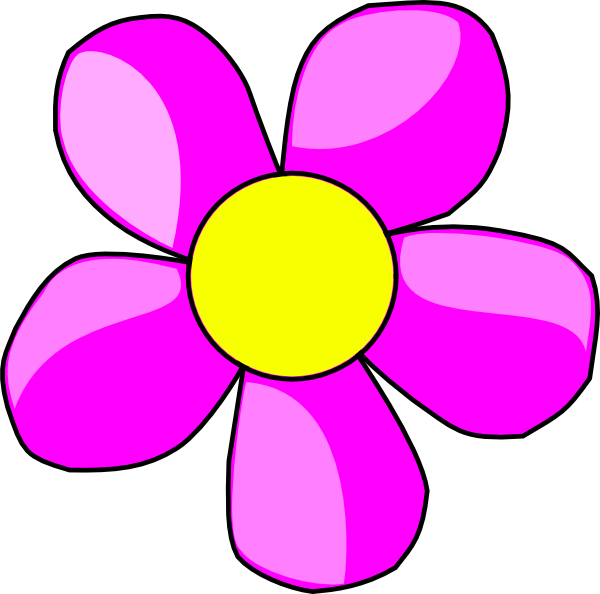 Yellow Flower clipart flower power Free on Clip Good Flowers