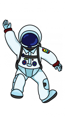 Small clipart astronaut Astronaut Occupation to to Draw