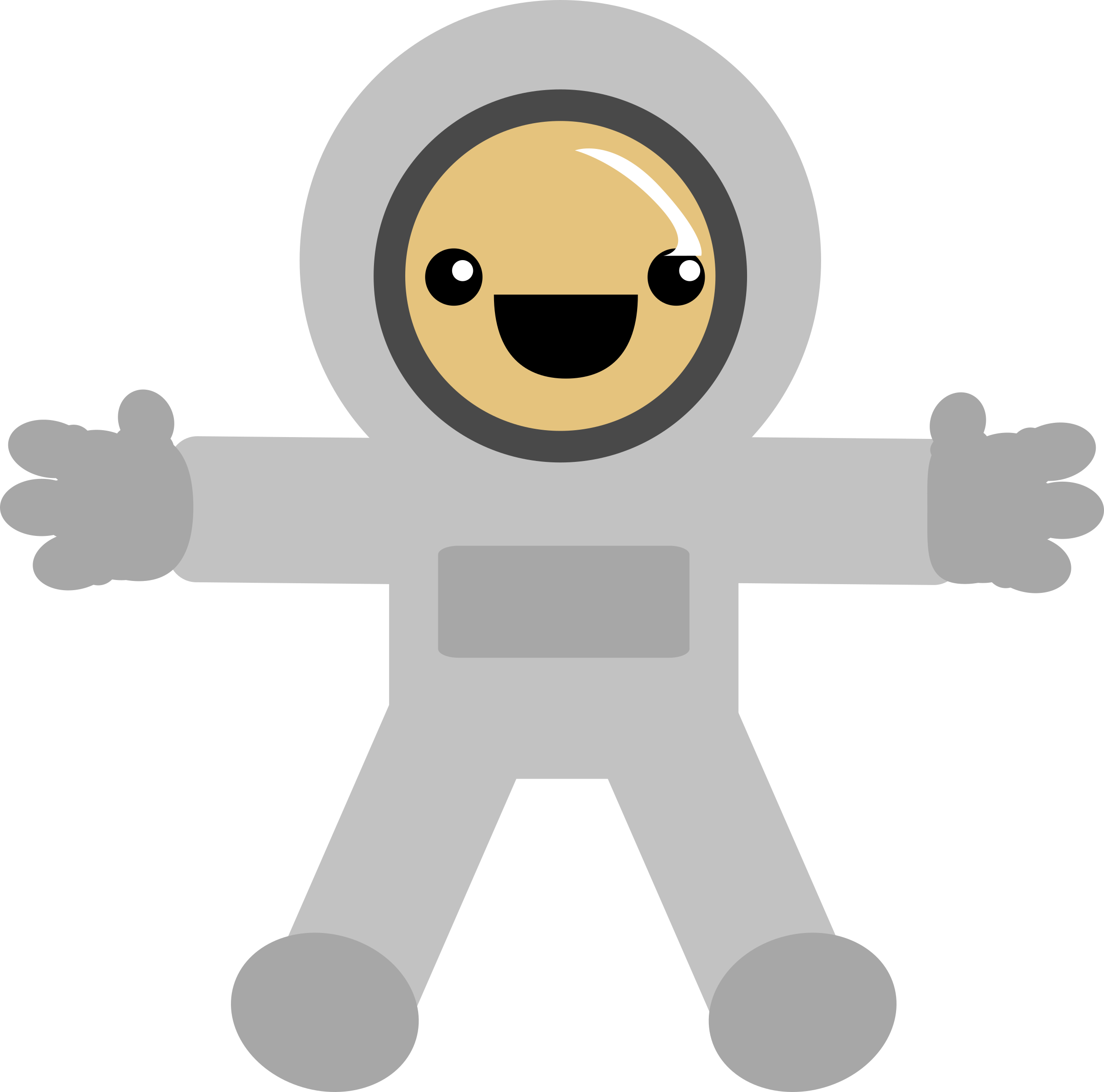 Small clipart astronaut Astronaut astronaut Clipart