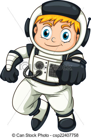 Small clipart astronaut Astronaut of male of astronaut