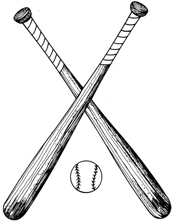 Small clipart baseball bat Clip Free Clipart Bat crossed%20baseball%20bats%20clipart%20black%20and%20white