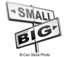 Small clipart big vs Big 37 versus matters