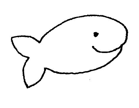 Black & White clipart fish Clipart Fish  art cute