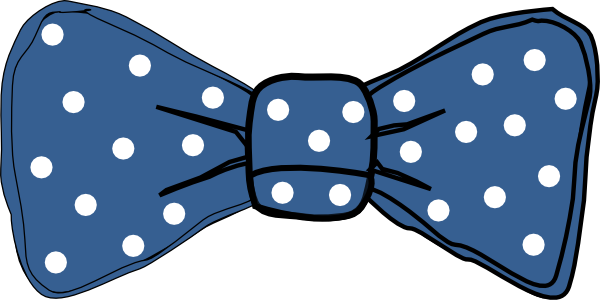 Dark Blue clipart bow tie Collection Bow Blue clipart Bow