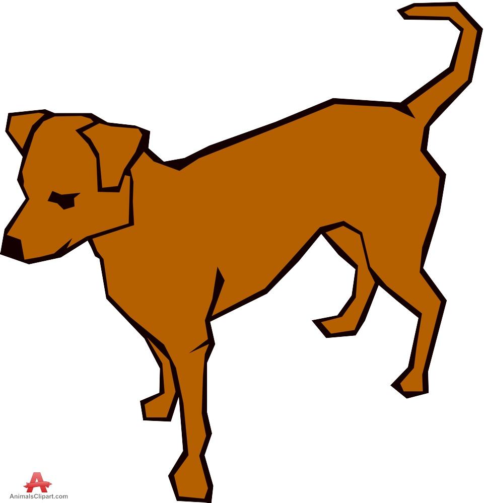 Animl clipart brown dog #5