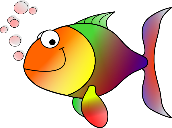 Larger clipart small fish Large Bubbling · medium clip