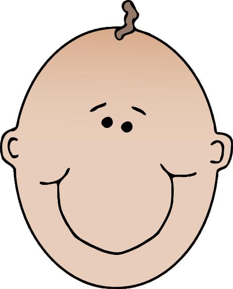 Small clipart cartoon baby Domain royalty com Face free