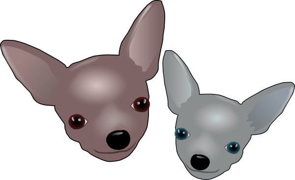Chihuahua clipart chiwawa · · Clker PNG: clip