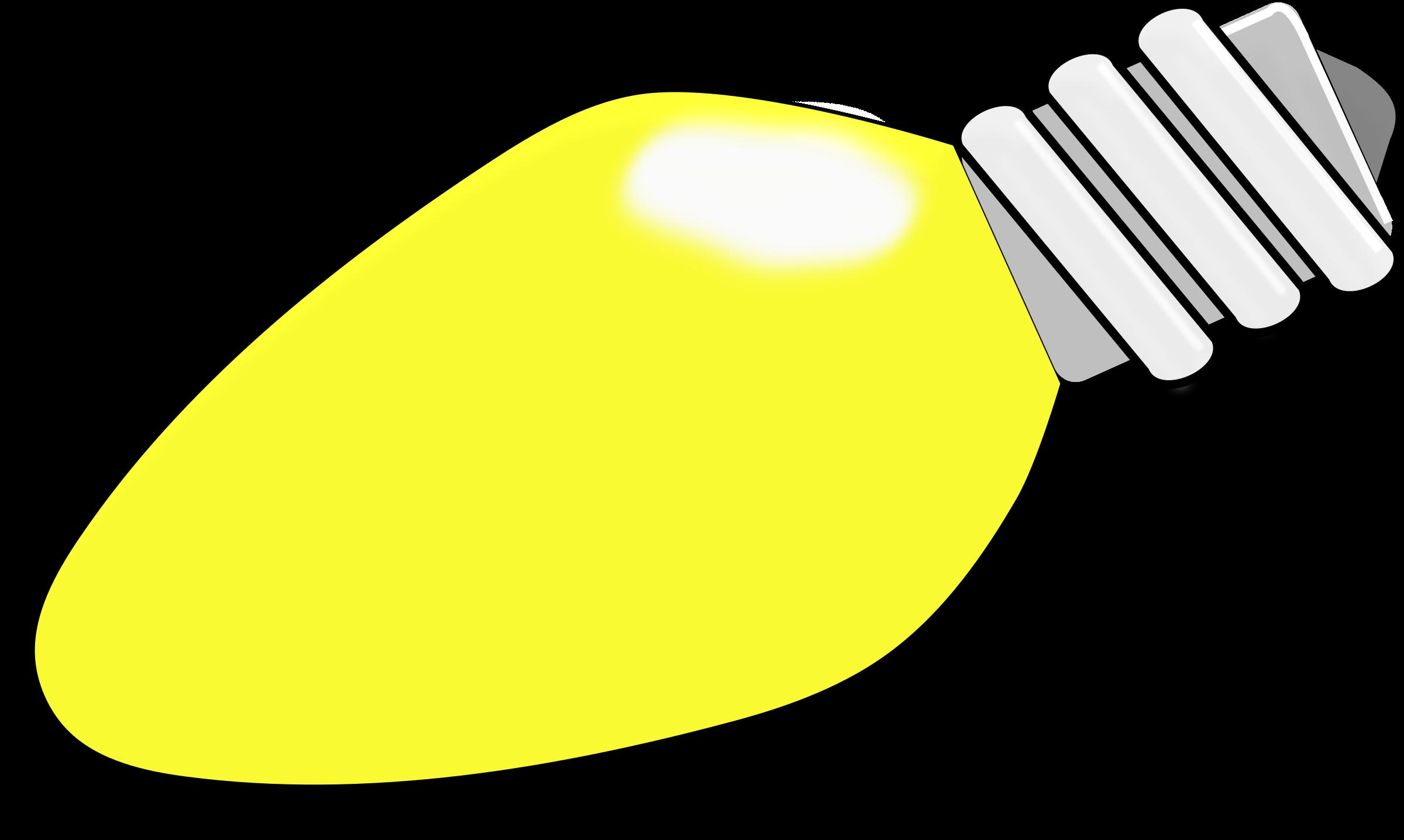 Small clipart christmas light Lightbulb — Clipart Clipartwork Images