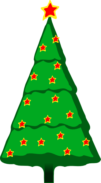 Christmas Tree clipart clear background At Tree art large Art
