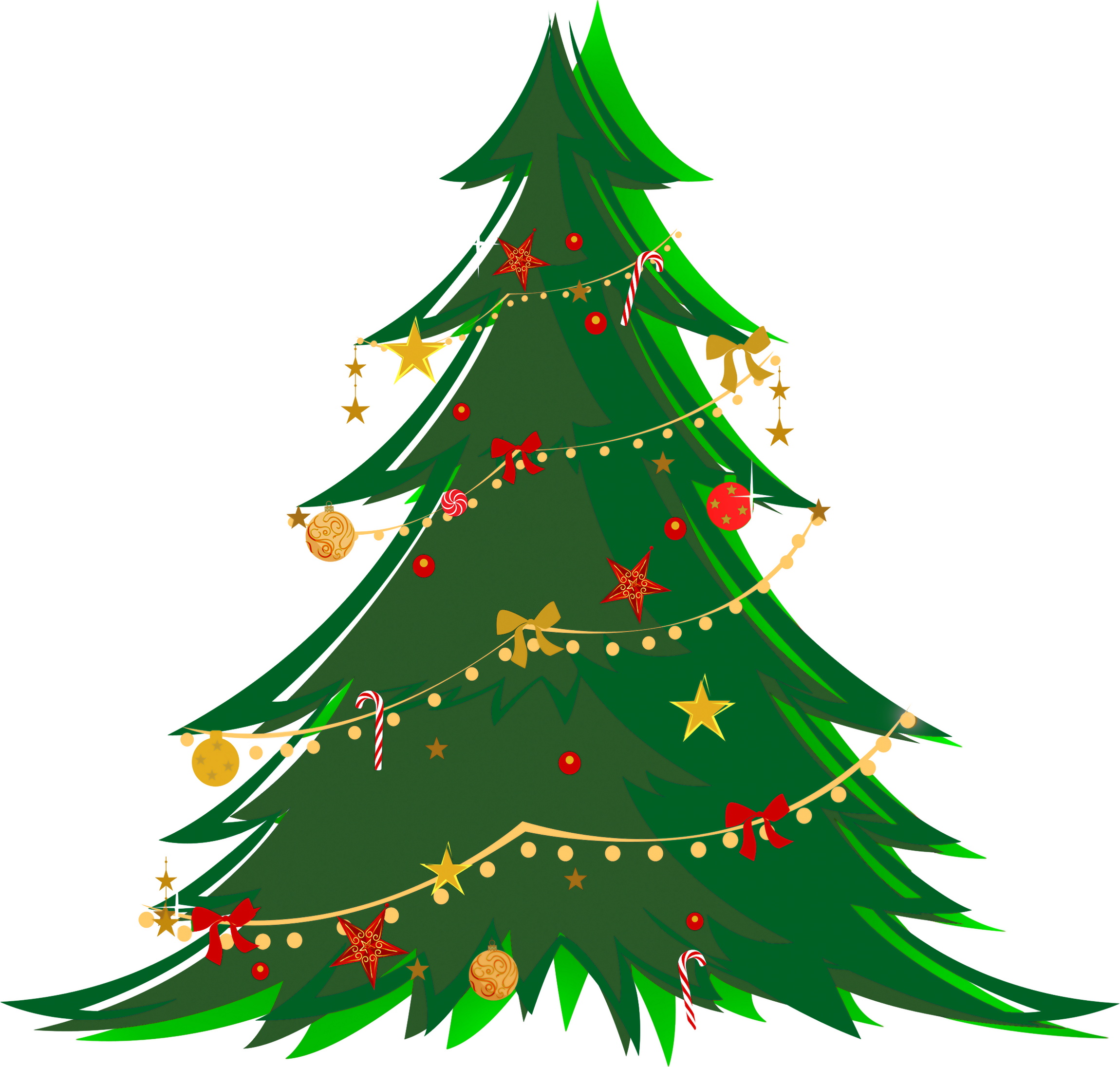 Christmas clipart transparent Art #7859 Small Tree