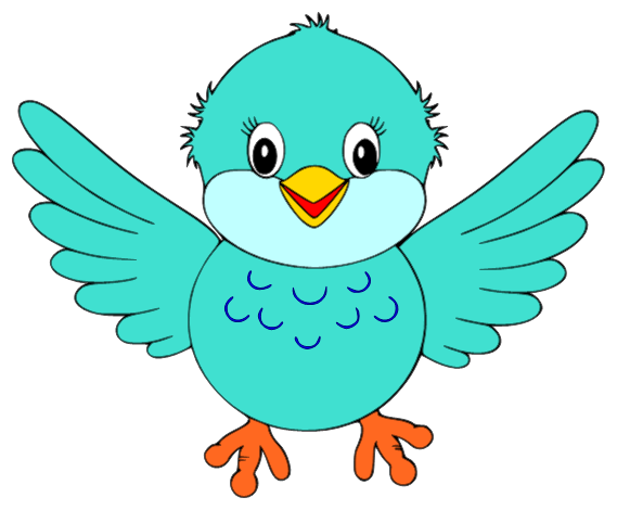 Bluebird clipart early bird Cute Small Cute Bird Clipart