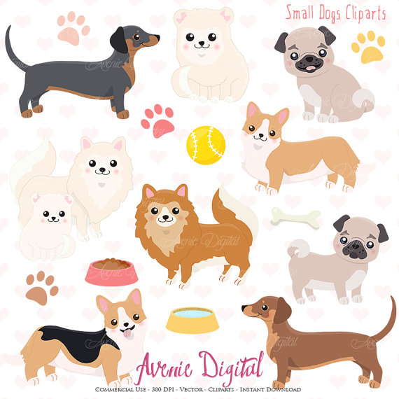 Small clipart cute Clipart Cute eps Pomeranian from