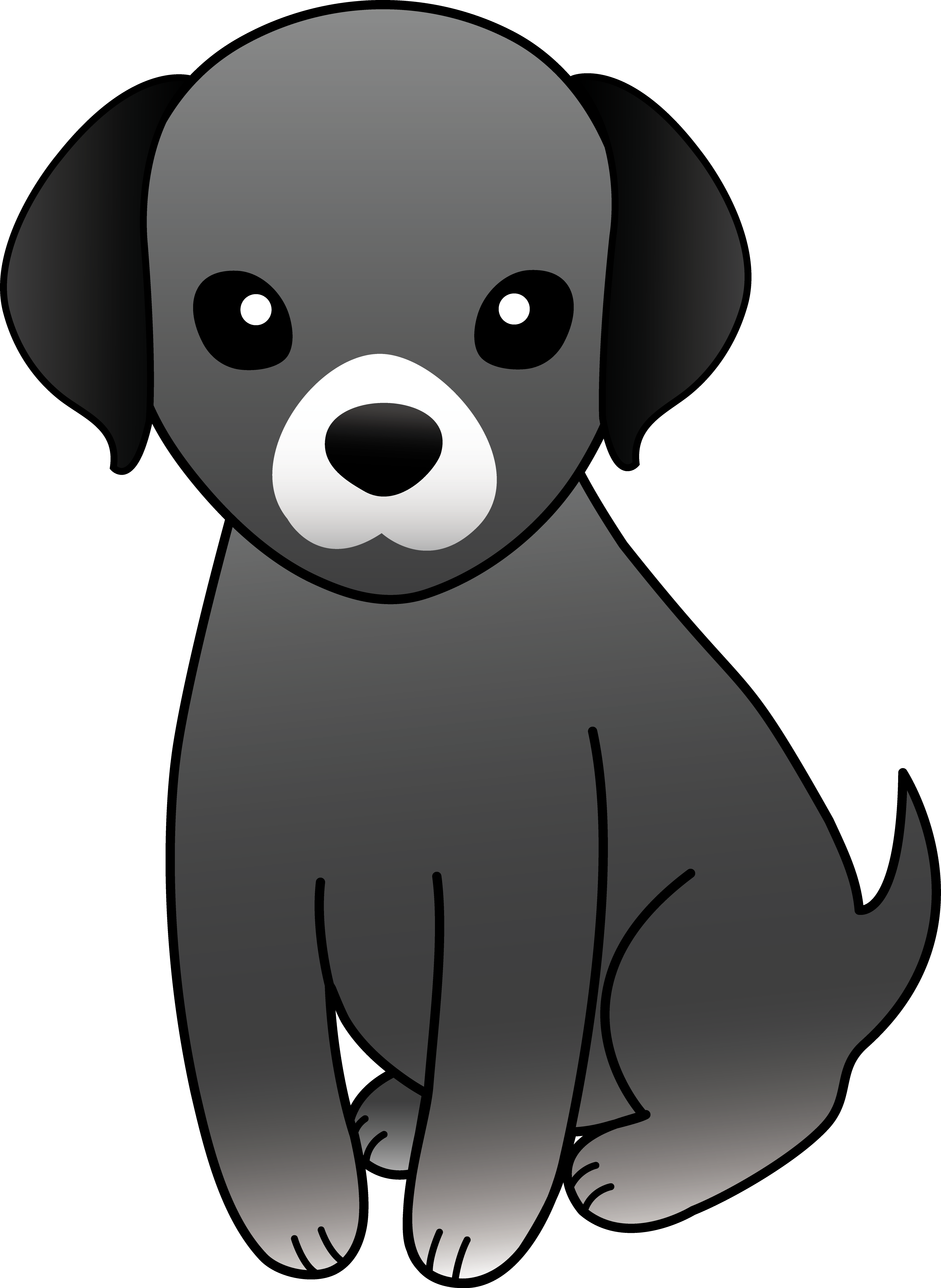 Small clipart cute Art Dog with Download dog