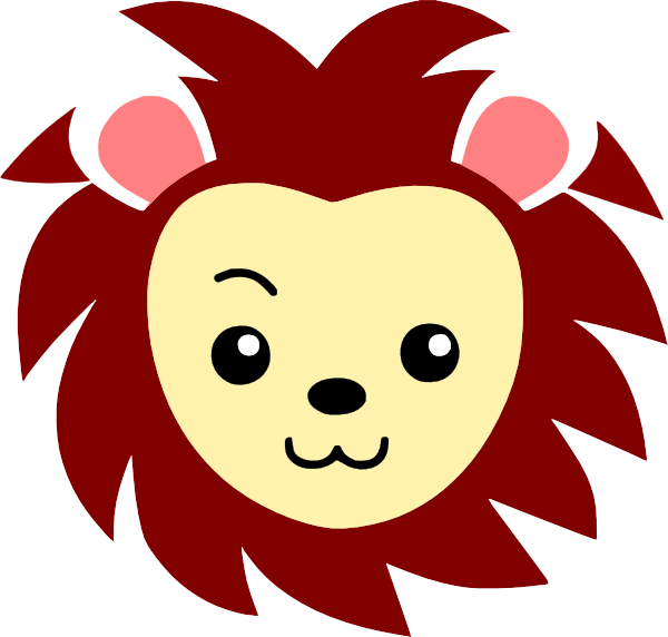 Small clipart cute lion Cute PNG: com · clip