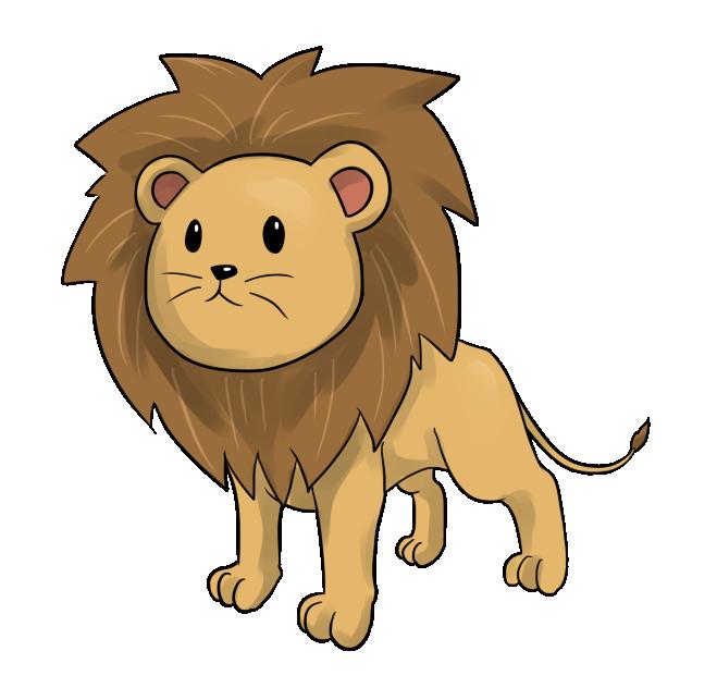 Small clipart cute lion Clip Free  Clip Use