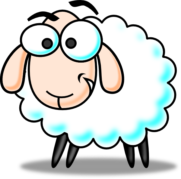 Sheep clipart small #2
